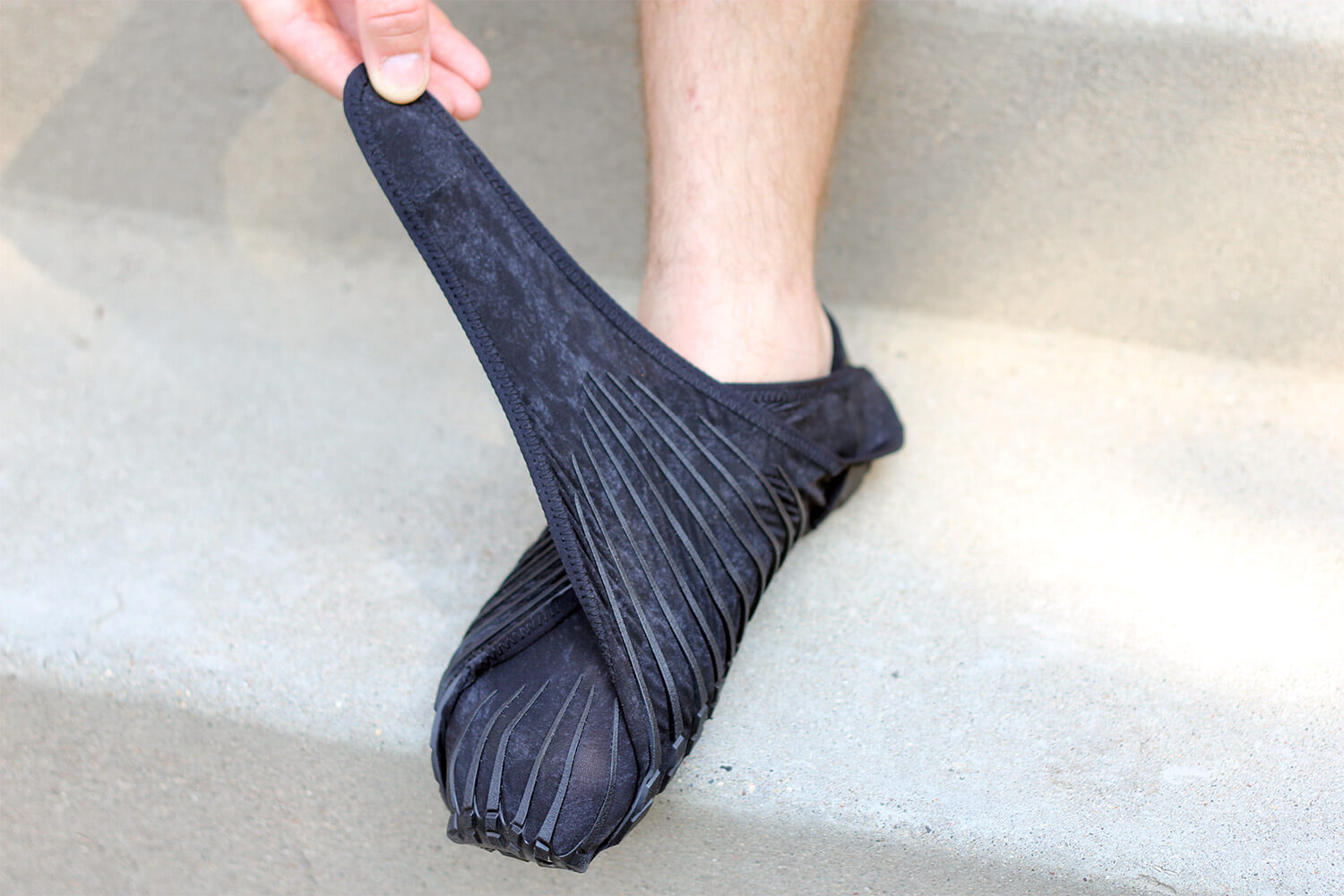 The New Vibram Furoshiki Wrapping Sole Review – The concept behind the  shoes is that it s basically a sole 54e9432f0e0