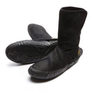 Vibram Furoshiki Shearling Black Mid Boots