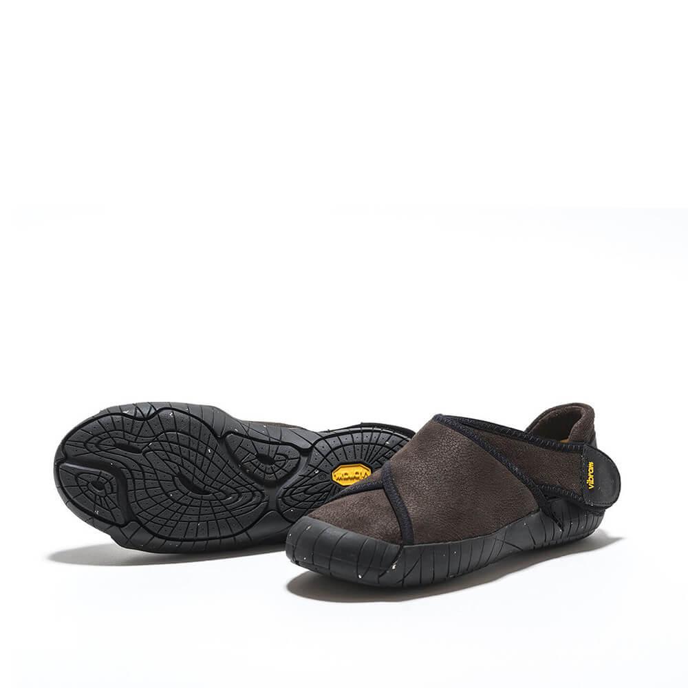 Vibram Winter Shearling Brown Sole Shoes Authentic Furoshiki Wrap jMLSGzVqUp