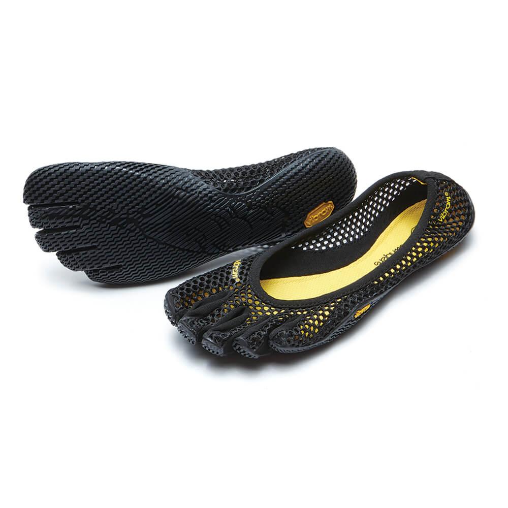vibram fivefingers vi b black s shoes feelboosted