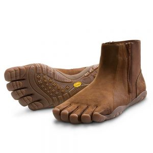 Vibram Fivefingers Bormio Women's Leather Boots W597 Whiskey Crazyhorse Tan/Brown