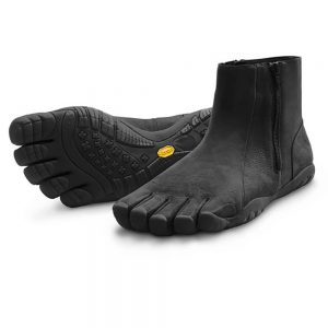 Vibram Fivefingers Bormio Women's Leather Shoes W598 Black