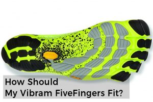 Vibram FiveFingers Fit Sizing Guide
