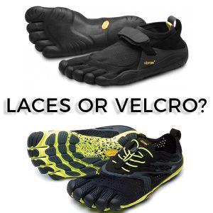 Vibram FiveFingers: Laces or Velcro?