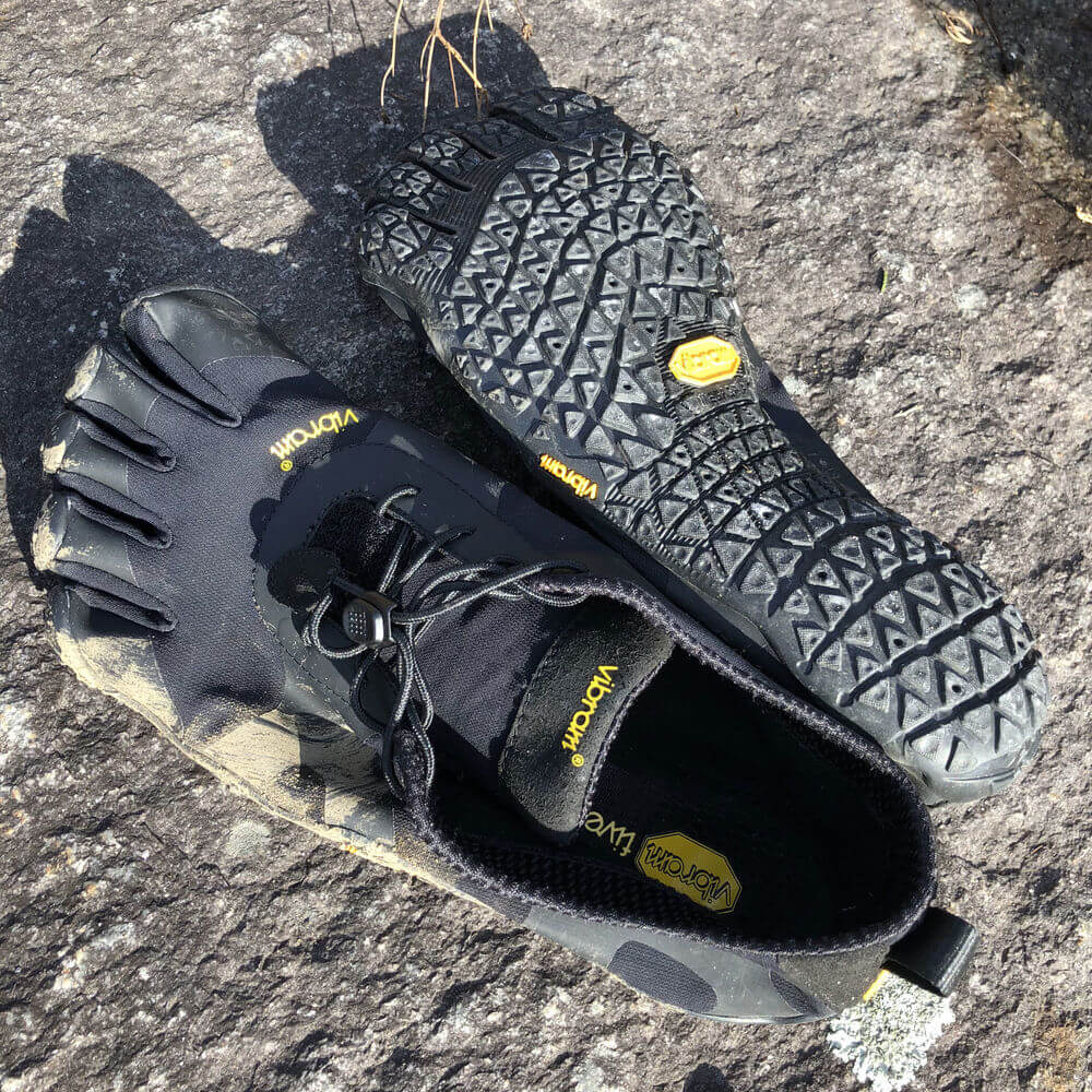 Vibram Mens V-Alpha Grey//Black Hiking Shoe